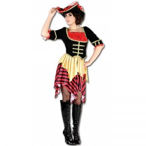 Captain Sal Woman Costume
