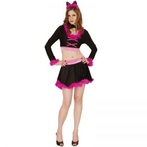 Purring Cat Woman Costume