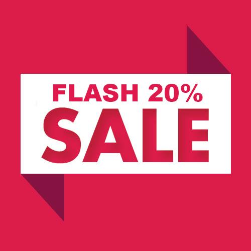 20% off Flat Sale