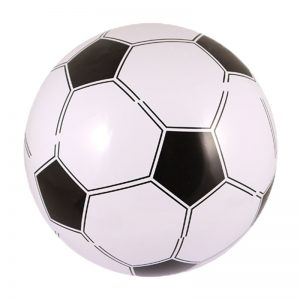 Inflatable Football 40cm Blow Up Toy