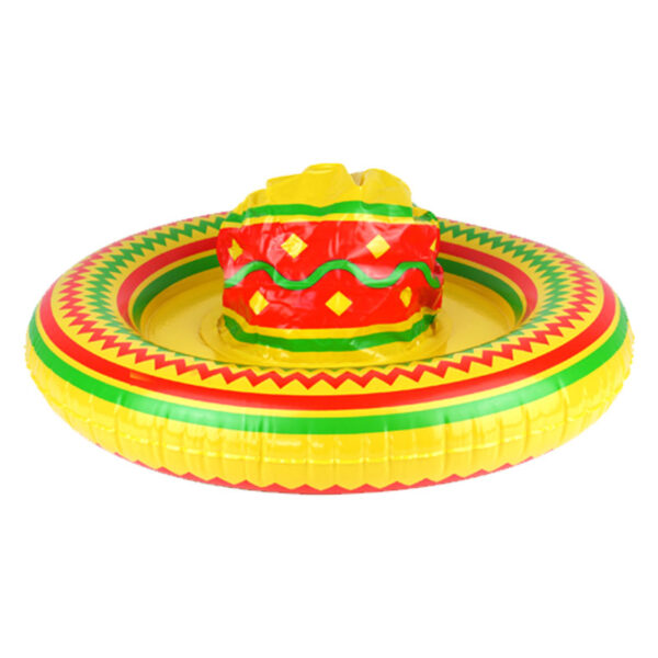 Inflatable Mexican Sombrero Hat
