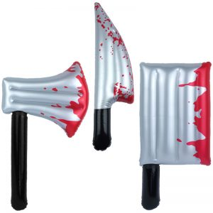 Inflatable Bloody Knife And Axe Blow Up Toys