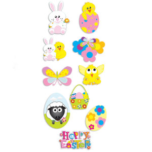 Easter Pop Up 3D Stickers