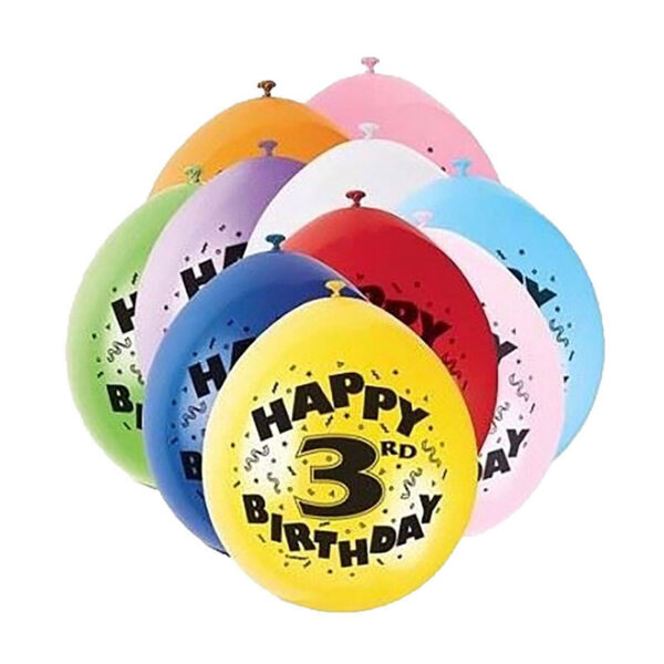 3rd Birthday Balloon