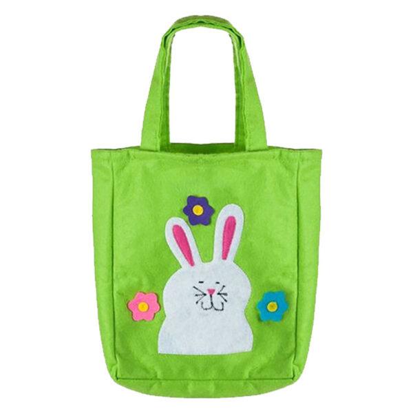 Easter Bunny Woven Bag