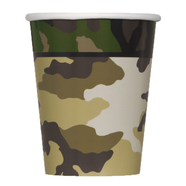 Camouflage Cup 9oz