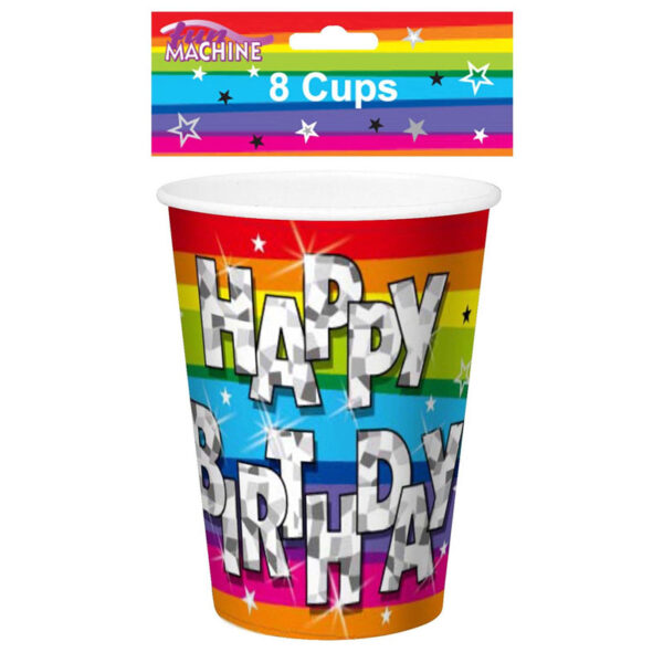 Funky Birthday Party Cup