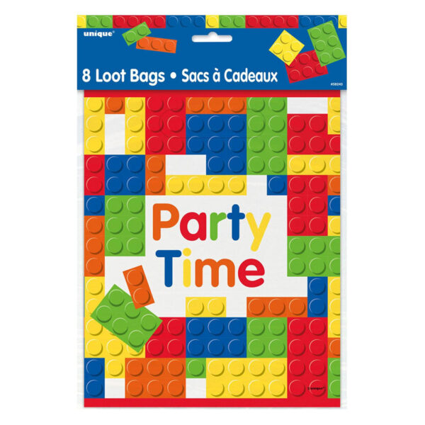 Building Blocks Party Time Loot Bag