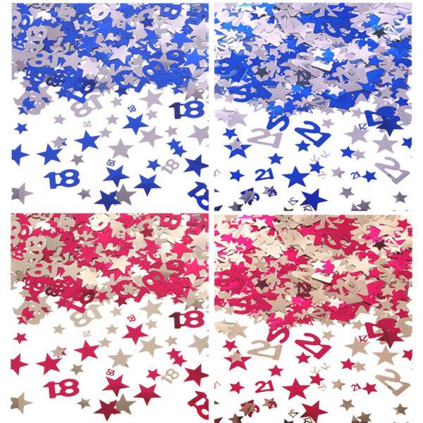 Main Star Confetti
