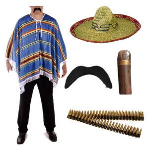 Mens Mexican Costume Set