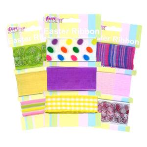 Assorted Easter Bonnet Decorative Ribbons