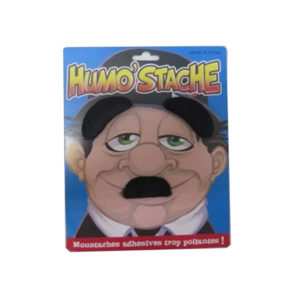 Black Mustache Carded Set