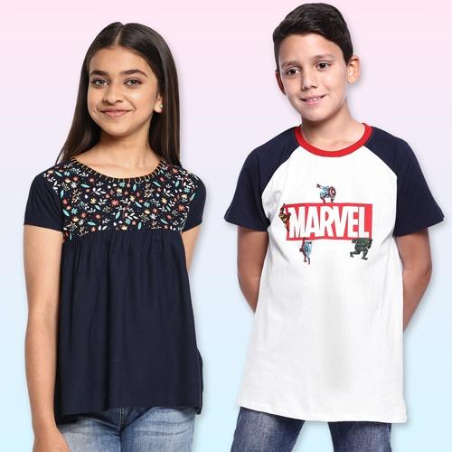 Kids Fashion; Children Top and Shirts