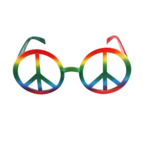 Peace No Lens Glasses