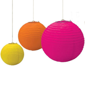 Lanterns 3pcs