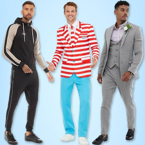 Mens dresses and outfits | Costumes for men