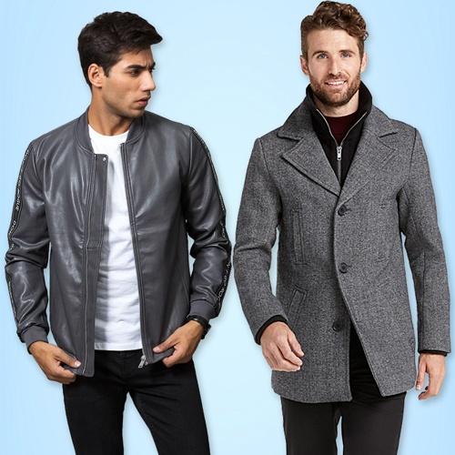 Mens Coats & Hoodies | Winter Jackets for men