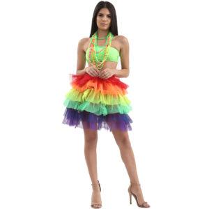 6 Layers Rainbow TuTu Skirt