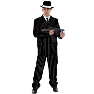 Spiv Gangster Black Costume