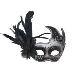 Masquerade Eye Mask With Flower