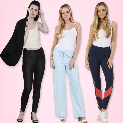 Womens Trousers and Pants, Womens Jeans and Leggings