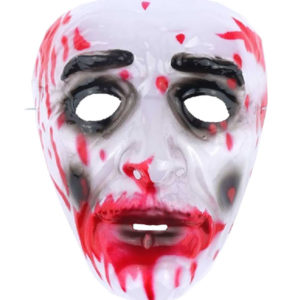 Halloween Bloody Plastic Face Mask