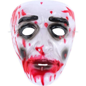 Bloody Plastic Face Mask