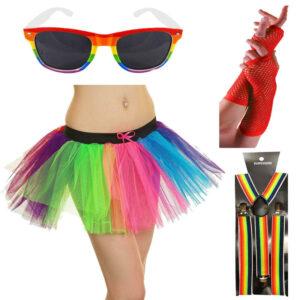 Women Gay Pride Carnival Costume Set