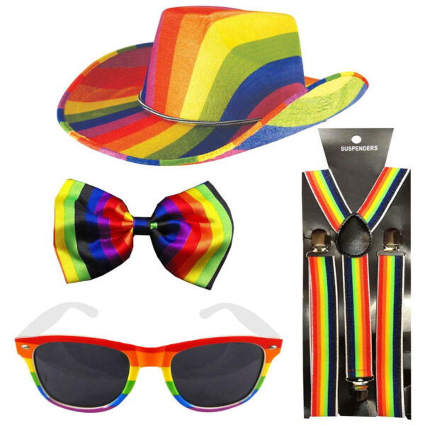 Gay Pride Cowboy Set