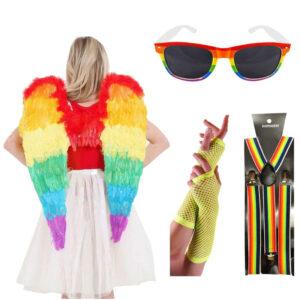 Rainbow LGBT Costume Accessory Kit