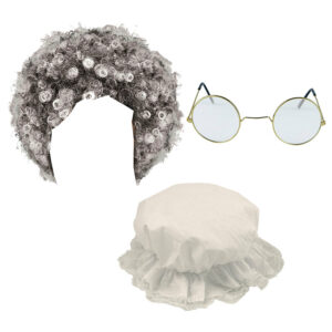 Old Lady Costume Accessory Set