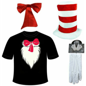 The Cat In The Hat Costume Set