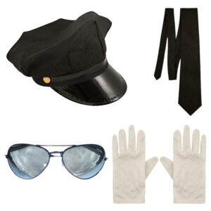 Adult Limo Driver Chauffeur Accessory Kit