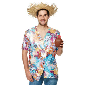 Men Hawaiian Beach Party Costume