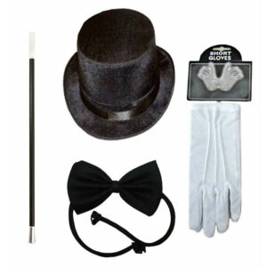 Unisex Magician Costume Accessory Kit