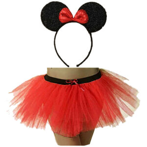 Minnie Mouse Headband TUTU Skirt Set