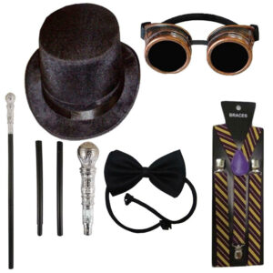 Adult Willy Wonka Costume Accessory Kit