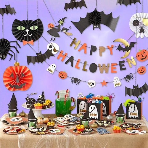 Halloween Party Supplies & Decorations