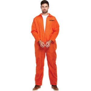 Prisoner Orange Overall Costume
