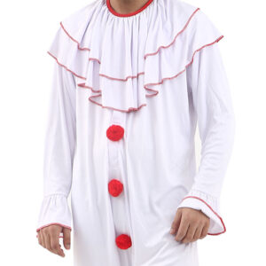 Men Scary Clown Costume