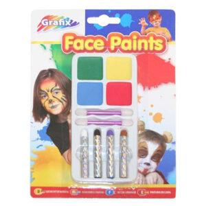Rainbow Face Paints
