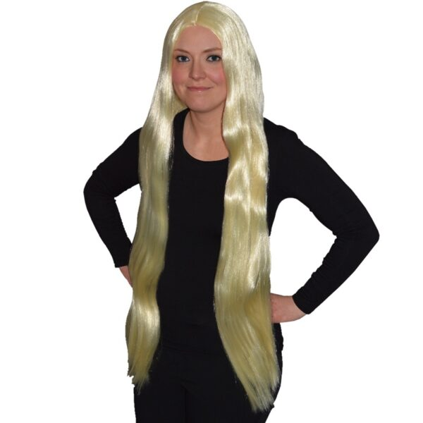 Long Blonde Wig for Halloween costumes dress up