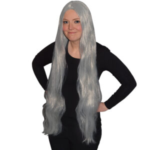 Long Grey Wig 36 Inches