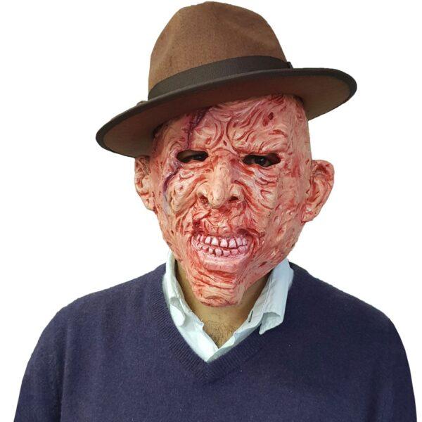 Burnt Man Mask for Halloween Freddy Krueger fancy dress up