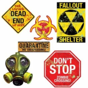 Zombie Doomsday Cutouts Pack
