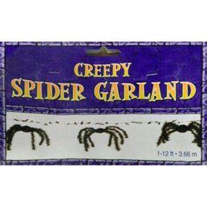 Halloween Creepy Spider Garland