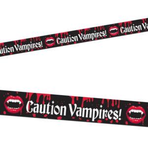 Vampire Blood Bite Caution Tape