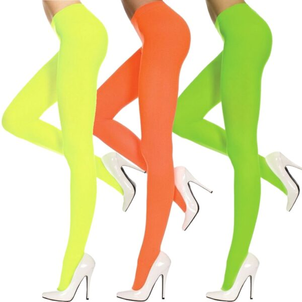 Ladies Opaque Tights See Throught Pants for women Halloween costumes fancy dress up