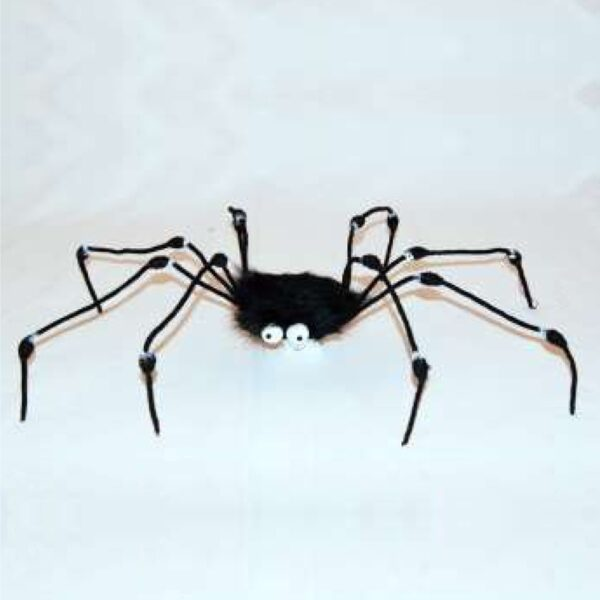 Fur Spider Toy for Halloween party decoration