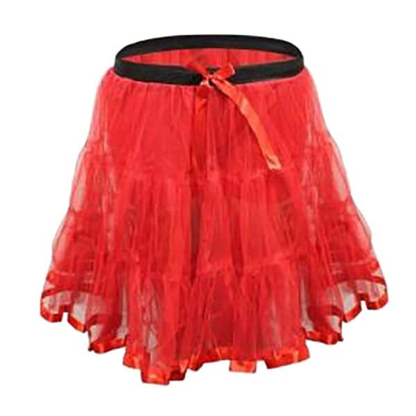 Girls Red Devil Tutu Skirt
